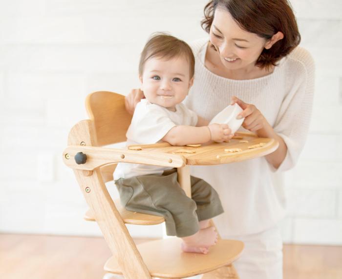 ママパパが大絶賛!姿勢が良くなり、集中力がつくハイチェアって?の画像6