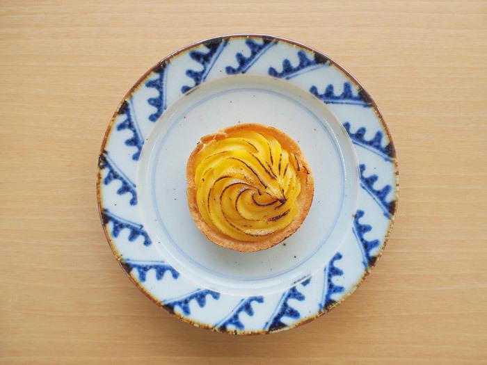 「ファミマプレミアム安納芋のタルト」_今日のご褒美スイーツ No.23の画像1