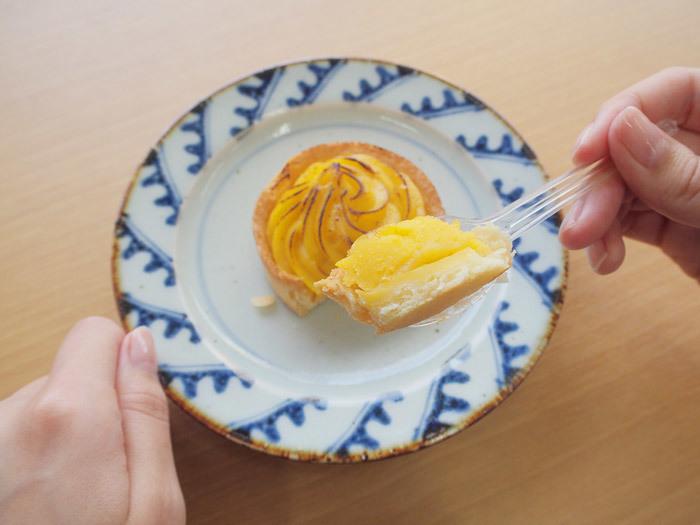 「ファミマプレミアム安納芋のタルト」_今日のご褒美スイーツ No.23の画像2