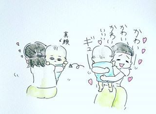 「カサカサ肌を保湿♡」子育てあるあるって、子育て以外じゃ絶対起こらないことばかり(笑)の画像9