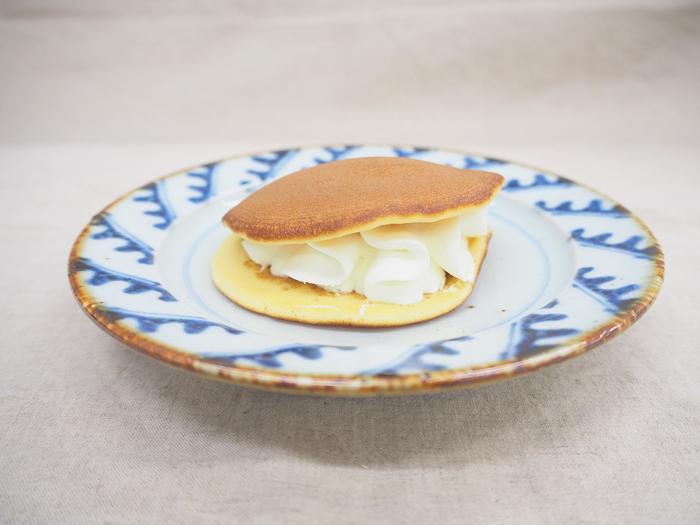 「北海道クリームチーズ使用 レアチーズのしっとりした生どら焼」_今日のご褒美スイーツ No.67の画像2