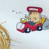 """「乗り方、違くない?」""""超自由人""""な姉弟がシュールすぎて、目が離せない!のタイトル画像"""