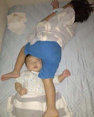インスタで大流行!「#我が子の最強寝相」が本当に最強♡まとめの画像24