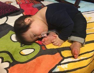 インスタで大流行!「#我が子の最強寝相」が本当に最強♡まとめの画像9