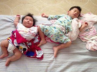 インスタで大流行!「#我が子の最強寝相」が本当に最強♡まとめの画像16