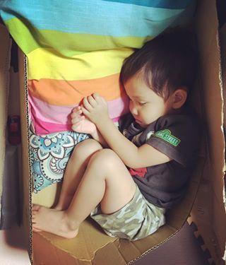 インスタで大流行!「#我が子の最強寝相」が本当に最強♡まとめの画像13