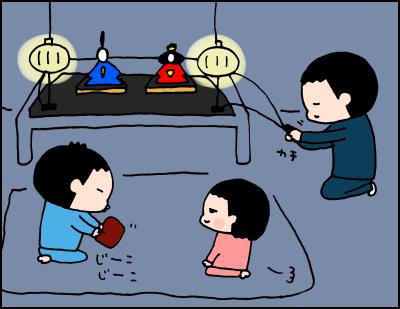 夜な夜な行われる、謎の「おひなさま儀式」がシュールすぎる!(笑)の画像2