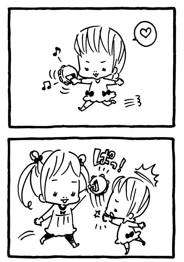 「え、ヤル気満々!?」かわいすぎる姉妹のやりとりに、もう完敗!(笑)の画像8