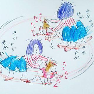 「隙あり!一本!」予測不可能な0歳児との、スリルと笑いの日々がクセになる!の画像1