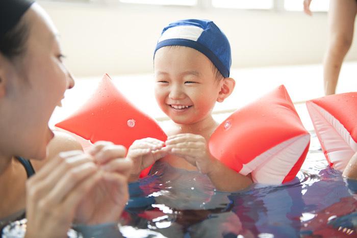 自信いっぱいの笑顔が嬉しい。「子どものできた!」が増える工夫がいっぱいのスイミングスクール。の画像4