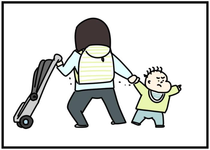 """抱っこ!歩く!やっぱり抱っこ!で困ったら… """"新""""抱っこひもが大活躍の画像2"""