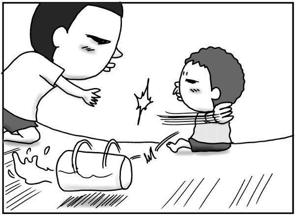 風邪薬を飲ませたい父 vs 絶対に飲みたくない息子。父はついに最終手段に…!の画像5