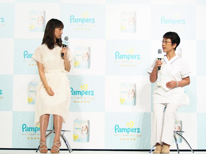 敏感なお肌に、パンパースの新しい「いちばん」を。小倉優子さんも登場したイベントに潜入!の画像2
