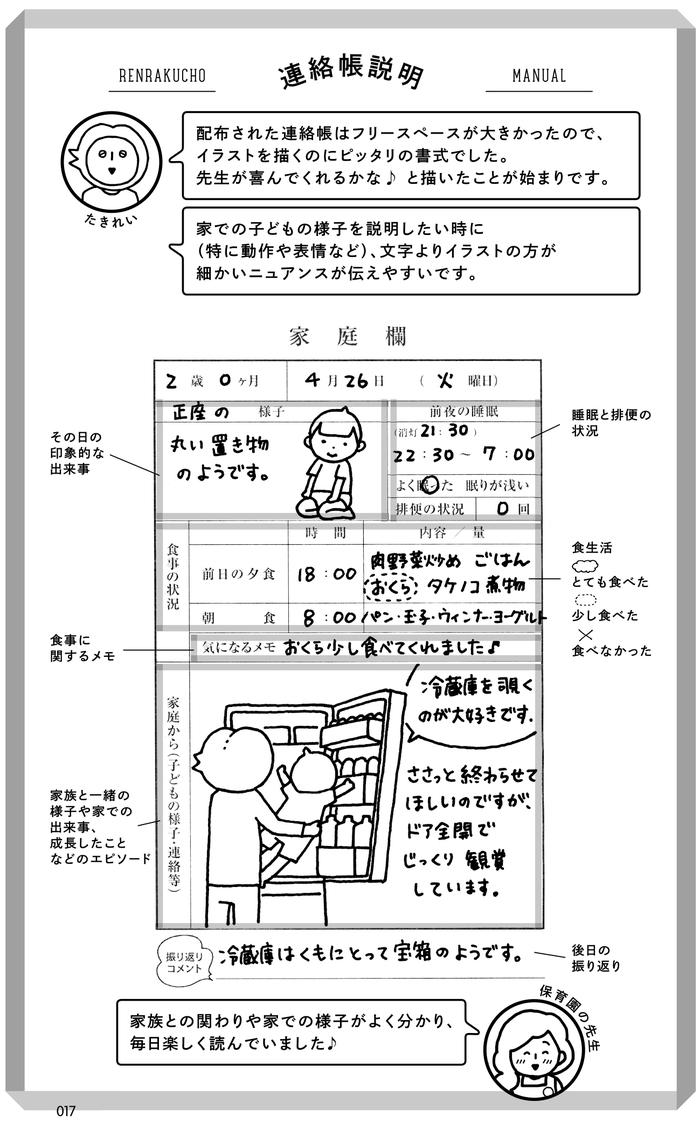 """「連絡帳なに書こうかな?」が明日から解決!日本一有名な""""連絡帳""""が本になった!の画像1"""