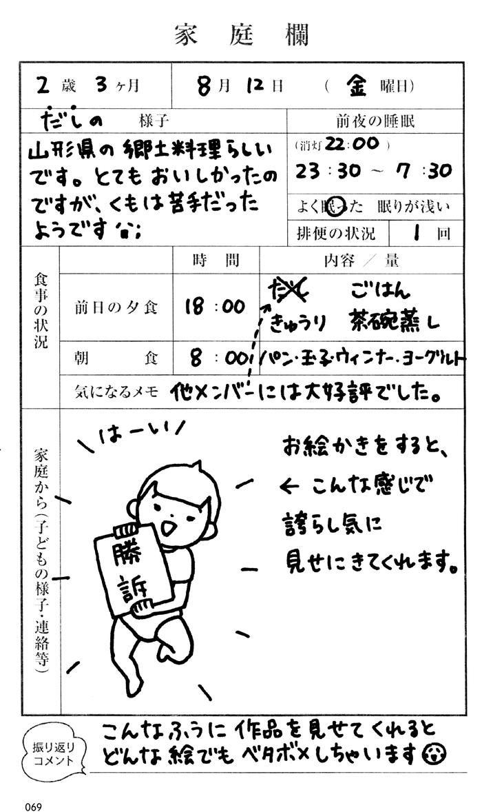 """「連絡帳なに書こうかな?」が明日から解決!日本一有名な""""連絡帳""""が本になった!の画像8"""