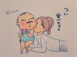 魅惑のむっちりほっぺがたまらない!「おもち系赤ちゃん」の癒やしパワーが…すごい♡の画像5