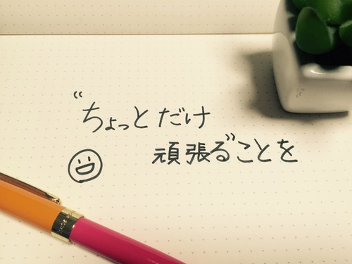 """金メダリスト、高橋尚子の書籍より「""""ちょっとだけ頑張る""""こと…」/ 今日の、ひとことvol.30のタイトル画像"""