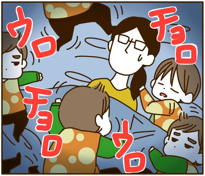 遊びたい次男 VS 寝たふり技の母…「寝かしつけ勝負」はいかに!?の画像7