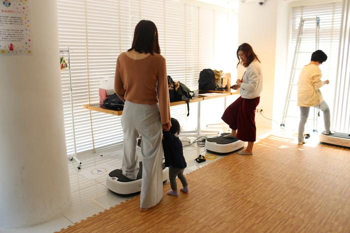 初の参加型イベント「コノビーCafe」で、産後の体ケアトレーニングを体験しました! の画像6