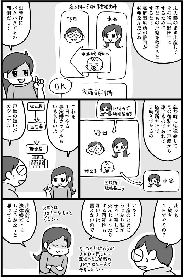 夫婦別姓制度のない日本。事実婚夫婦の出産は、こんな困難があります。の画像6