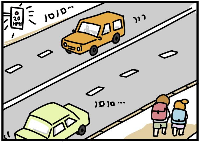 車社会だけど歩行者優先?アメリカの交通ルールが子どもに優しすぎる…!の画像3