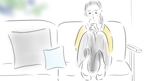 検索、検索、検索…。何が知りたいのかな、私。/ 娘のトースト 3話のタイトル画像