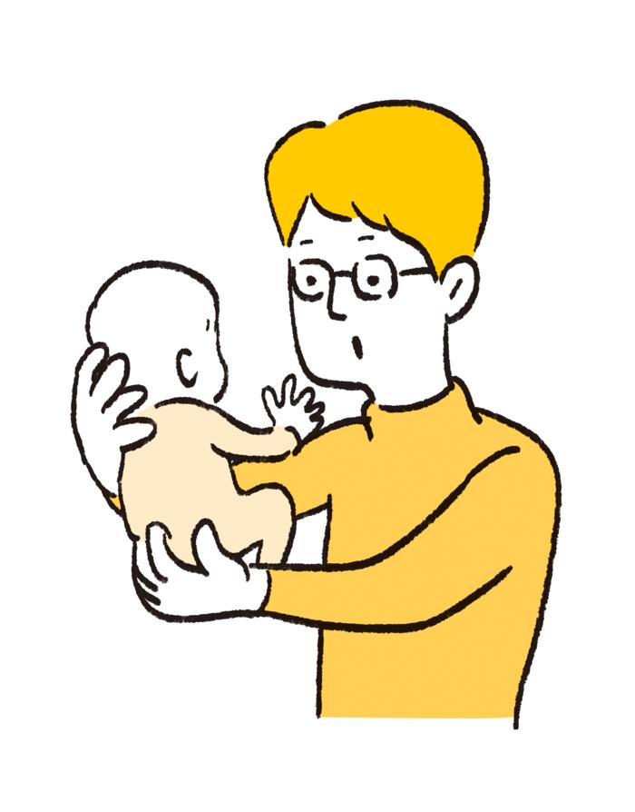 """毎日の抱っこで腱鞘炎!を予防する""""疲れない育児テク""""の画像4"""