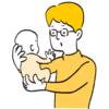 """毎日の抱っこで腱鞘炎!を予防する""""疲れない育児テク""""のタイトル画像"""