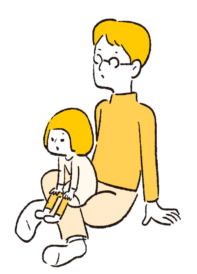 """毎日の抱っこで腱鞘炎!を予防する""""疲れない育児テク""""の画像2"""