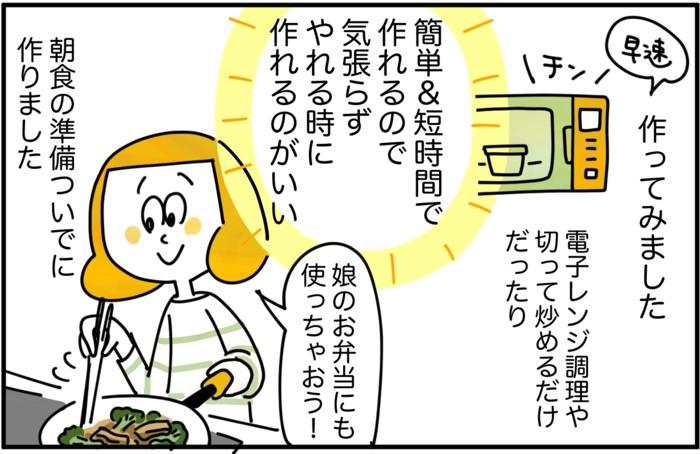 毎日の食卓に彩りを。マンネリ化に悩むママが「常備菜」セットを使ってみた!の画像26