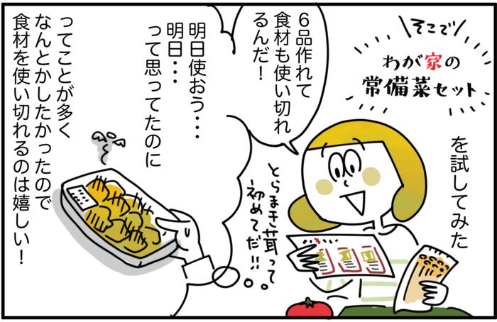 毎日の食卓に彩りを。マンネリ化に悩むママが「常備菜」セットを使ってみた!の画像25