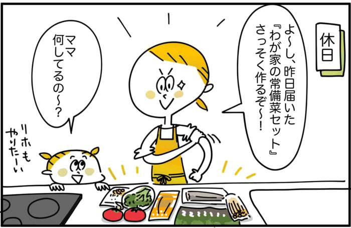 毎日の食卓に彩りを。マンネリ化に悩むママが「常備菜」セットを使ってみた!の画像12
