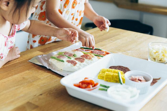 こんなに簡単でいいの?子どもと一緒に生地から作る「おうちピザ」の画像1