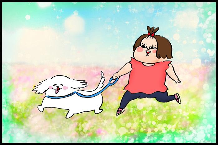 3歳娘の犬のお散歩デビュー!さっそく訪れた試練に、どう対応する…!?の画像11