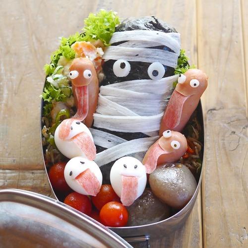 10/31はハロウィン!園に持っていきたい、お弁当アイディア集♩のタイトル画像