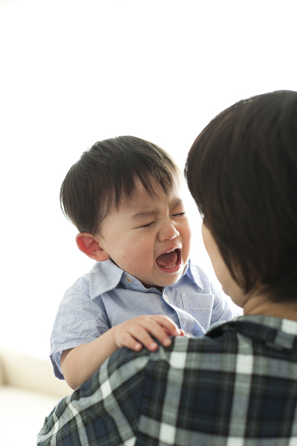 入園後にはじまった3歳次男の大泣き。先輩ママと実母のアドバイスに救われた。の画像1