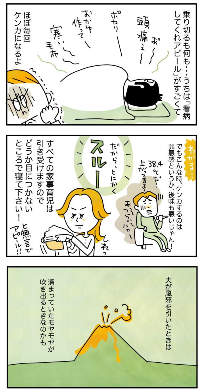 """夫が風邪を引いた時、優しくできる?妻の本音と""""乗り切り方""""のリアルの画像5"""