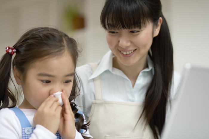 【子供の風邪予防】かかってしまった時の症状や対策方法<医師監修>の画像1