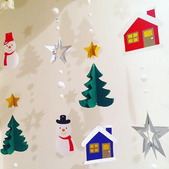 """ポイントは""""壁""""!親子で楽しめる「クリスマスの飾りづけ」アイデア集★の画像12"""