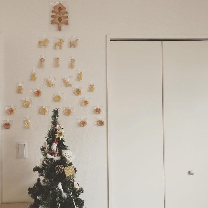 """ポイントは""""壁""""!親子で楽しめる「クリスマスの飾りづけ」アイデア集★の画像18"""