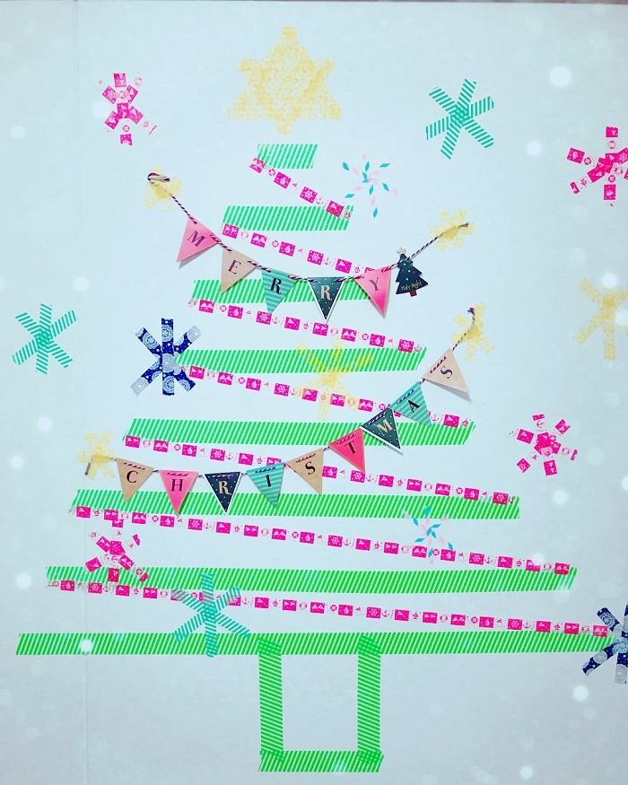 """ポイントは""""壁""""!親子で楽しめる「クリスマスの飾りづけ」アイデア集★の画像9"""
