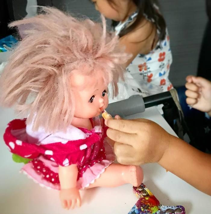 どうしたらこうなるの…?「#髪の毛爆発」ベビー&キッズにじわじわくる。の画像17