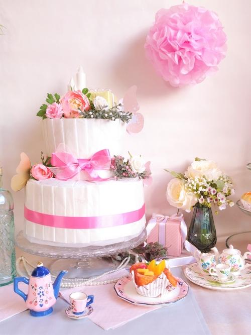 おむつケーキのおすすめは?男の子・女の子に人気のおむつケーキ8選のタイトル画像