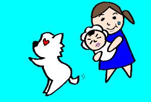 カオス?平穏?ワンコと赤ちゃんのご対面~里帰りを終えるまで<第二回投稿コンテストNo.57>の画像2