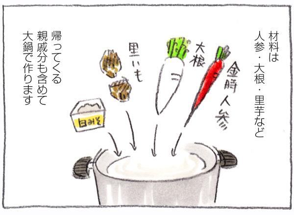 嫁いだ先で衝撃!白味噌のお雑煮のお餅を…まさかの「アレ」にイン!の画像2