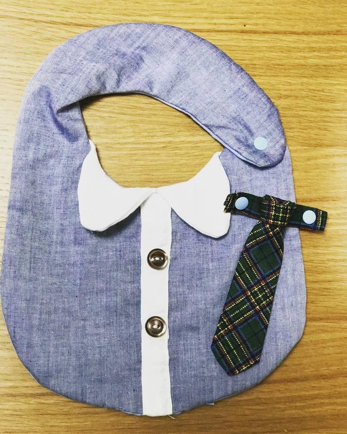 赤ちゃんに手作りの贈り物♡「手作りスタイ」の作り方&アイデア集の画像13