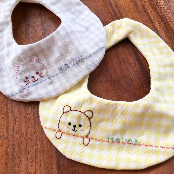 赤ちゃんに手作りの贈り物♡「手作りスタイ」の作り方&アイデア集の画像4